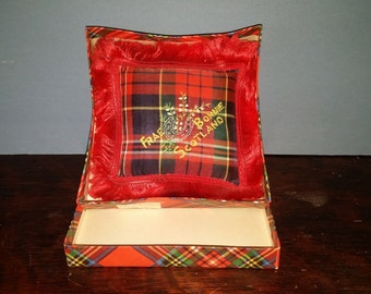 Vintage Tartan Pin Cushion