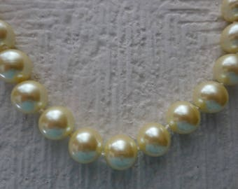 SALE/Discounted/Vintage Carolee Necklace/Mother of the Bride Necklace/Carolee Necklace/Pearl Knotted/Maid of Honor/Something Old Necklace
