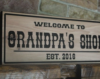 Custom Wood Signs, Rustic Wall Decor, Personalized Sign, Mens Gift, Rustic  Signs