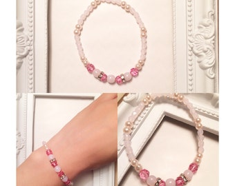 Bracelet cherry blossoms