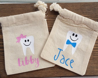 Personalized Tooth Fairy Sack