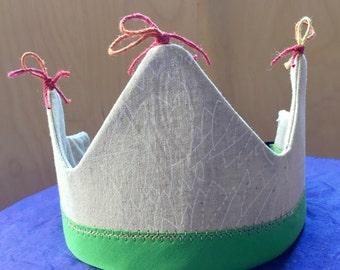 Handmade Keepsake Crown, pretend play, waldorf, made with love!