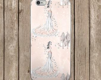 Wedding Dress Girl Pattern Design iPhone Case   iPhone 5/5s/SE   iPhone 6/6s   iPhone 6 Plus/6s Plus