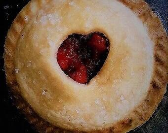 SUGAR FREE MINI Pies / Sugar Free Mini Tarts: Cherry, Pineapple or Apple | Sugar Free Holiday Pies