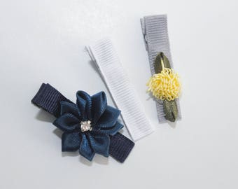 Midnight Summer - Lined Alligator Clips