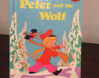 Walt Disney's Peter And The Wolf 1974 Random House