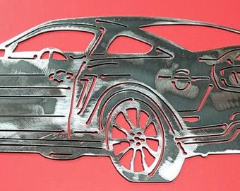 2011 Ford Mustang California Special Ford Mustang Mustang Metal Art Wall Art