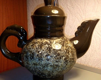 Old Ceramic Teapot from the USSR