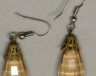 Resin Faceted Earrings