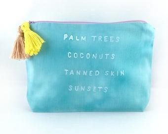 Cosmetic bag Makeup bags makeuptasche summer love