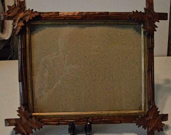 Antique Folk Art Frame