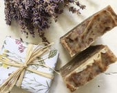 Lavender and Patchouli Handmade Cold Processed Soap
