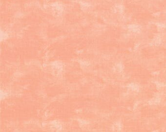 By The HALF YARD - Table for Two by Sandy Gervais for Moda Fabrics, Pattern #7521-603 Rose Tonal Solid