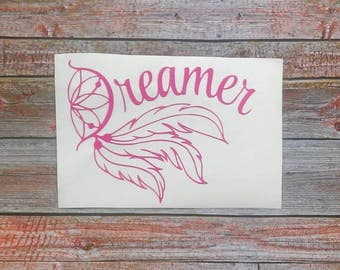 Dream Catcher Decal, Dream Catcher, Car Decal for Women, Yeti Decal for Women, Car Accessories, Dream Catcher Sticker, Stickers for Yeti Cup