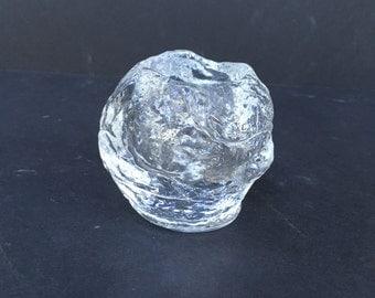 Vintage Kosta Boda Snowball Votive Candleholder