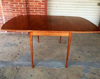 Mid Century Modern Drexel Declaration Series Dining Table By Kipp Stewart Part 86