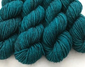 Shadow Turquoise - BFL 4 Ply Mini