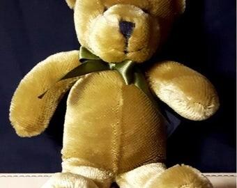 Vintage Teddy, Harrods Teddy Bear, English Bear, English Teddy, Harrods London, Teddy Bear, Soft Bear, Toy, Old Teddy Bear, Vintage Bear