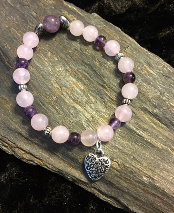 Hearts and Rose Quartz is a Match Made in Heaven