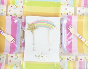 Rainbow Troll Party Kit