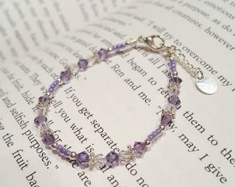 Light purple toddler bracelet