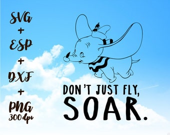 Don't just fly Soar PNG High Resolution SVG Clipart transparent