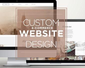 WIX Website design / eCommerce website design / Custom Website Design on WIX / Premade Website template Wix / Wix WebDesign Package