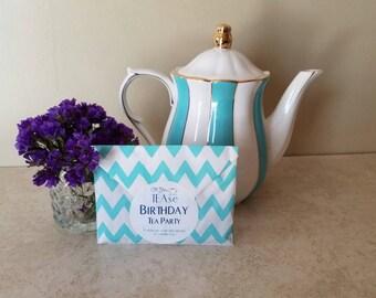 """Artisan Tea Blend """"Birthday Tea Party"""" Vanilla Black Tea"""