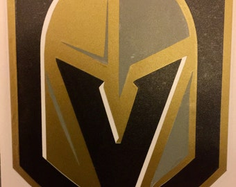Vegas Golden Knights, Reflective decal