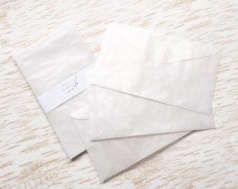 Glassine envelopes (size No.3) Set of 10