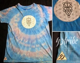 One of a kind, tie dye 43Tribe T-shirt M/M