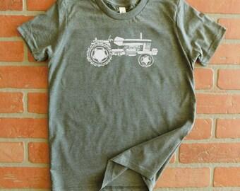 Tractor Youth T-Shirt, Farm T-Shirt, Farming Shirt, Vintage Tractor Shirt, Kids Tractor Shirt, Old Tractor