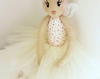 Vintage floral fairy