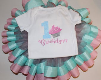 Cupcake Birthday Outfit