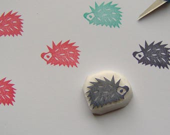 Hedgehog rubber stamp, Hedgehog stamp, cuddly Hedgehog stamp, woodland animal stamp, forest stamp, pet stamp, scrapbooking, cardmaking, diy