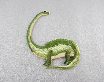 Embroidered Dinosaur Iron on Patch