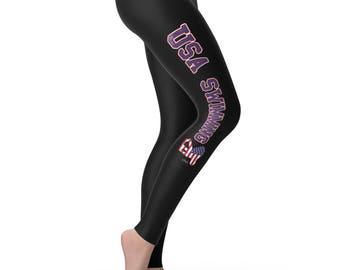 USA Swimming Women's Leggings