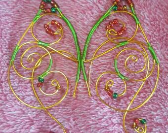 Pre-Elfe Ears -Christmas Colors-