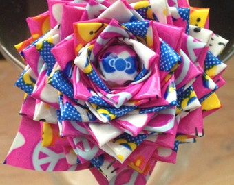 Limited Edition! Hello Kitty Duct Tape  Rose Flower Pen