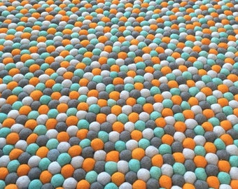 Felt Ball Rug -  Dream Weaver (FREE SHIPPING!)