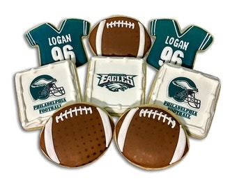 Philadelphia Eagles Cookie Combo Set - 1 Dozen