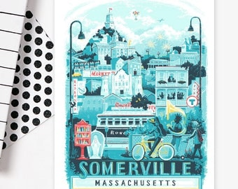 Somerville • set of 8 cards