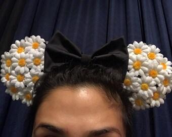 Daisy Flower Minnie Ears