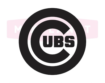 Chicago Cubs Cut Files, Chicago Cubs SVG Files, Chicago Cubs SVG Cutting Files, Chicago Cubs Cricut Cuttable SVG Files, Instant Download