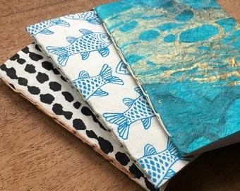Set of 3 mini notebooks