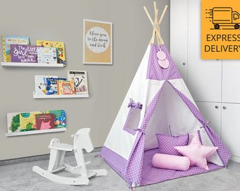 Tipi - Kids Play Tent Teepee - Juicy Berry