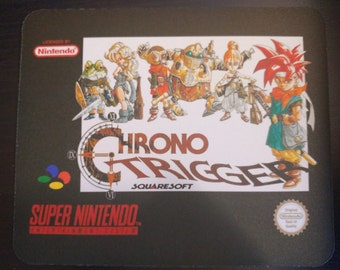 Chron Trigger mousepad! Snes. PAL. Others available.
