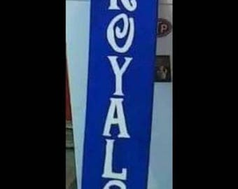 Sports team customized signs