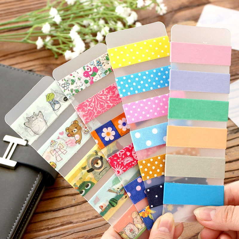 5pcs 5x15cm, Washi Tape Sample Board, Washi Tape accessories ...
