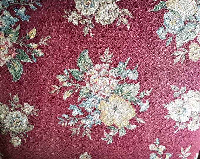 Featured listing image: Vintage Bark Cloth Drapery Panels